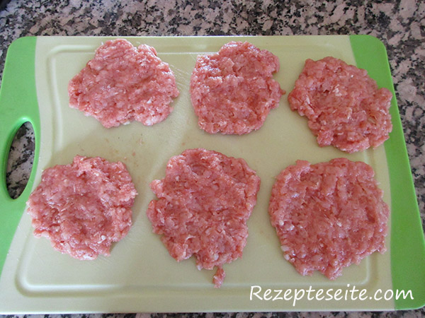 flache-hamburgerscheiben